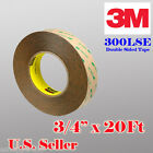 "3M 300LSE 3/4"" x 20 Ft Double Sided Sticky Adhesive Tape High Bond Iphone Screen"