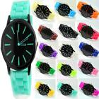 Ladies Watch Womens Sports Analog Birthday Gift Jelly Silicone Unisex Watches