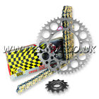 YAMAHA WR250 1989-1997 REGINA RX3 PRO CHAIN AND RENTHAL SPROCKET KIT SILVER