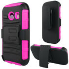 For Straight Talk Samsung Galaxy ACE Hybrid Combo Holster KICKTAND Case