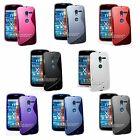 S-line Silicone TPU Gel Rubber Skin Cover Case for Motorola Moto X, XT1058 AT&T