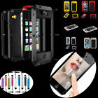Waterproof Dirt/Shockproof Aluminum Gorilla Glass Case Cover For iPhon 4/4S/5/5S