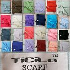 Wow Offer Scarf Cloth Neckerchief Pash Mina Men's Women 200x74 Cuddly Soft