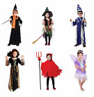CHILDRENS ROLE PLAY HALLOWEEN FANCY DRESS COSTUME PARTY PUMPKIN WITCH SKELETON