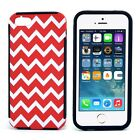 Striped Chevron Print Phone Case High Quality Plastic Cover for iPhone 5 5S 5G