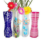 5/10 Home Tools Collapsible Plastic Flower Vase Container Party Wedding Decor