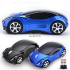 2.4 GHz Wireless Car USB LED Optical Mouse Mice For PC Laptop Vista Window 7 XP