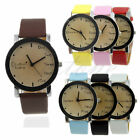 Women's New Pretty Letter Dial Faux Leather Watch Quartz Fashion Wrist Useful