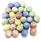 10 x Glass Marbles Various Designs 16mm Traditional Collector Game Play Home