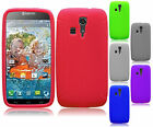 Kyocera Hydro Life C6530 Rubber SILICONE Soft Gel Skin Case Cover + Screen Guard