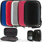 "Portable Black & Blue 2.5"" PC Laptop USB Hard Drive Disk Carry Case Cover Pouch"