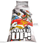 POWER RANGERS DUVET COVER SET, SINGLE BED, MEGAFORCE BOYS + DUVET COMBO OPTION +