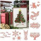 Spellbinders Christmas Shapeabilities Cutting Dies & Emboss Folders New 2014