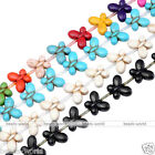 "15""L Howlite Turquoise Butterfly Loose Spacer Bead Fit Women Fashion Jewelry DIY"