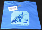 CASUAL T SHIRT 80's FOOTBALL STONE ROSES OSTI  MILLE MIGLIA GOGGLE BROWN JACKET