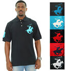 Beverly Hills Polo Club Superhorse Men's Polo Shirt Cotton