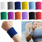 Women&Men Terry Cloth Cotton Sweatbands Wrist Sweat Band Sports For Yoga/Running