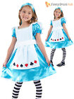 Girls Fairytale Alice in Wonderland Book Week Day Child Kids Fancy Dress Costume