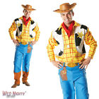 "FANCY DRESS COSTUME ~ MENS ADULT DISNEY PIXAR TOY STORY WOODY SIZES 38"" - 46"""