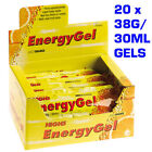 HIGH 5 FIVE FULL BOX OF ENERGY GELS MIXED FRUIT FLAVOURS 40g/32ML x 20 SACHETS