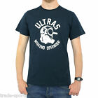 WEEKEND OFFENDER MENS ULTRAS T SHIRT NAVY M L XL XXL XXXL FOOTBALL CASUALS SMART