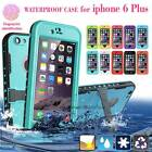 Daily Life Water Shock Snow Proof Hard Heavy Duty Case Cover For iPhone 6/6 Plus