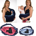 Muti-Function Baby Sling Shoulder Carrier Baby Rider Travel Wrap Cradle Pouch