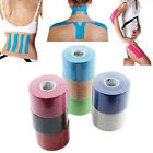 5m x 5cm Kinesiology Sports Muscles Care Elastic Physio Fitness Health Tape MPJ4