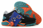 "Patrick Ewing ""Ewing Wrap"" BLACK TEAL ORANGE TROPICAL 1EW90103-968 Men Size *New"