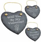 Personalised Engraved Slate Valentine's Gifts