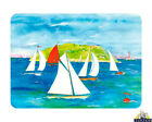 Tuftop Glass Chopping Board Sailing Yachts Scenic Water Kitchen Worktop Saver