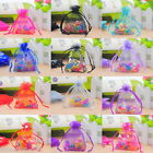 25PCs 7cm x9cm Organza Gift Bags Wedding/Christmas Favor Gift M3363