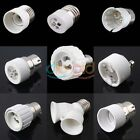 E27/E14/B22/GU10/MR16/E12/E40 Base Converter Light Socket Adapter Extender Acces