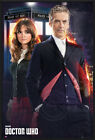"DOCTOR WHO - FRAMED TV SHOW POSTER / PRINT (THE DR. & CLARA) (SIZE: 24"" x 36"")"