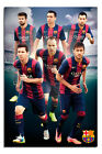 Barcelona FC Players 2014 - 2015 Season Poster New - Maxi Size 36 x 24 Inch