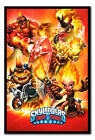 Framed Skylanders Trap Team Fire Poster New