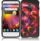 For Alcatel One Touch Sonic LTE Rubberized HARD Protector Cover +Screen Guard