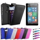 NEW LEATHER FLIP CASE COVER FITS NOKIA LUMIA 820 FREE SCREEN PROTECTOR