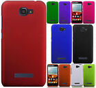 For Alcatel ONETOUCH Fierce 2 Rubberized HARD Case Phone Cover + Screen Guard
