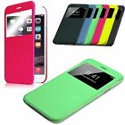 Semi Transparent Slim Leather Case Hard Shell Cover for iPhone 6 / iPhone 6 Plus