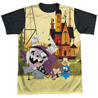 Fosters Home for Imaginary Friends Dancing Friends Adult Black Back T-Shirt