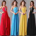 BIG SALE NEW Mermaid Bridal Bridesmaid Dress Evening Prom Formal Party Ball Gown