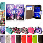 For Samsung Galaxy Young 2 G130 PU Leather Book Wallet Flip Case Cover +Stylus