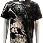 r58 Sz M L XL XXL Rock Eagle T-shirt SPECIAL Tattoo Skull Biker Fashion Black