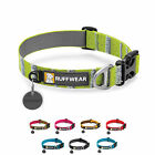 Ruffwear Hoopie Dog Collar Durable Strong Secure Tag Silencer