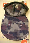 NEW Simply Dog Quilted Camo Hooded Jacket