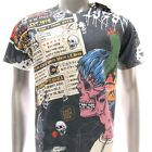 m268 Minute Mirth T-shirt M L XL Tattoo Classic Skull Zombie Style Biker Rock