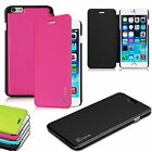 Flip Leather Case Slim Lightweight Shell Cover for Apple iPhone 6 Plus