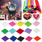 Polyester Craft Felt Fabric Handicraft Scrapbooking 1mm thick 30cm x 30cm DIY