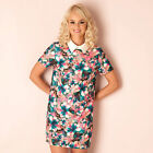 Womens Glamourous Airbrush Flower Swing Dress In Floral From Get The Label
